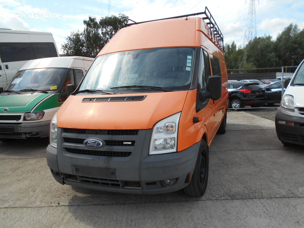 FORD Transit Jumbo closed box van
