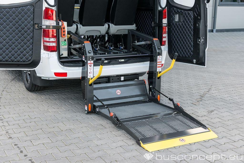 new MERCEDES-BENZ Sprinter 319 Taxi +Lift / Full Car CoC combi van