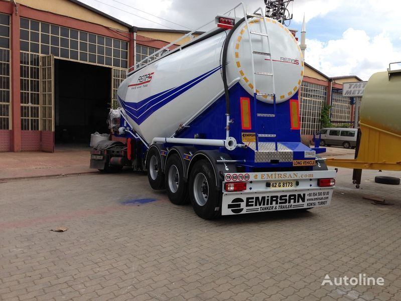 new EMIRSAN Manufacturer of all kinds of cement tanker at requested specs  cement tank trailer