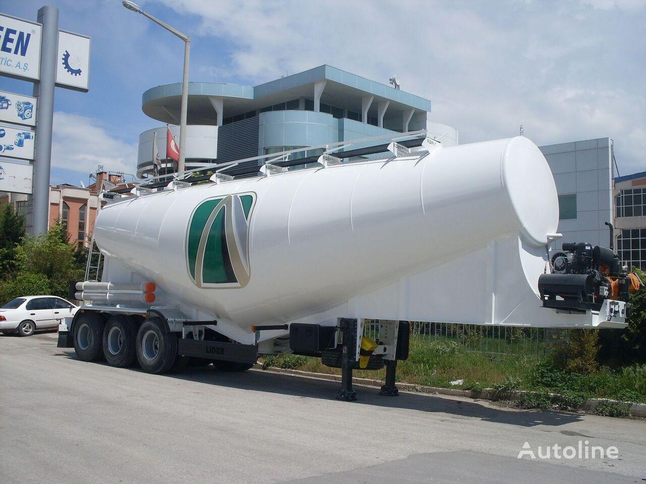 new LIDER بلكر اسمنت مواصفات اوربية 2019 cement tank trailer