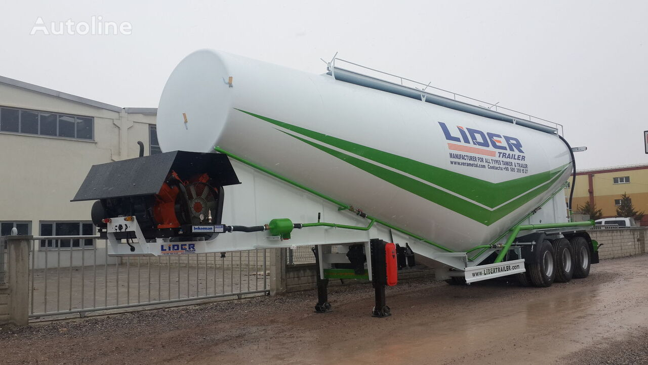 new LIDER 2019 NEW 80 TONS CAPACITY  FROM MANUFACTURER READY IN STOCK  cement tank trailer