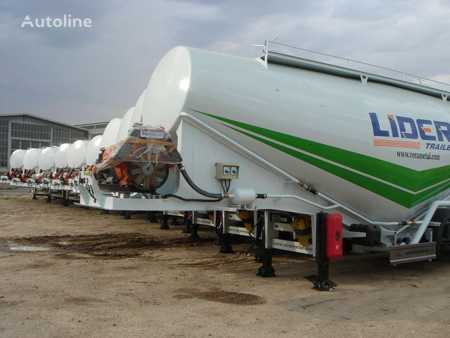 new LIDER NEW ciment remorque 2018 YEAR (MANUFACTURER COMPANY) cement tank trailer