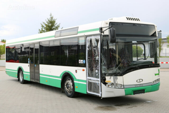 damaged SOLARIS Urbino 12 Fahrerklimaane/ Low Entry  city bus