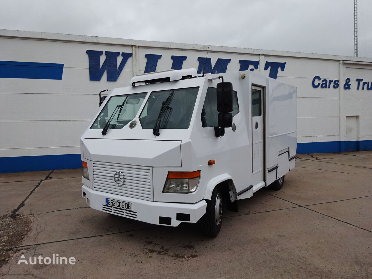 MERCEDES-BENZ Vario 813 cash in transit van for sale ...