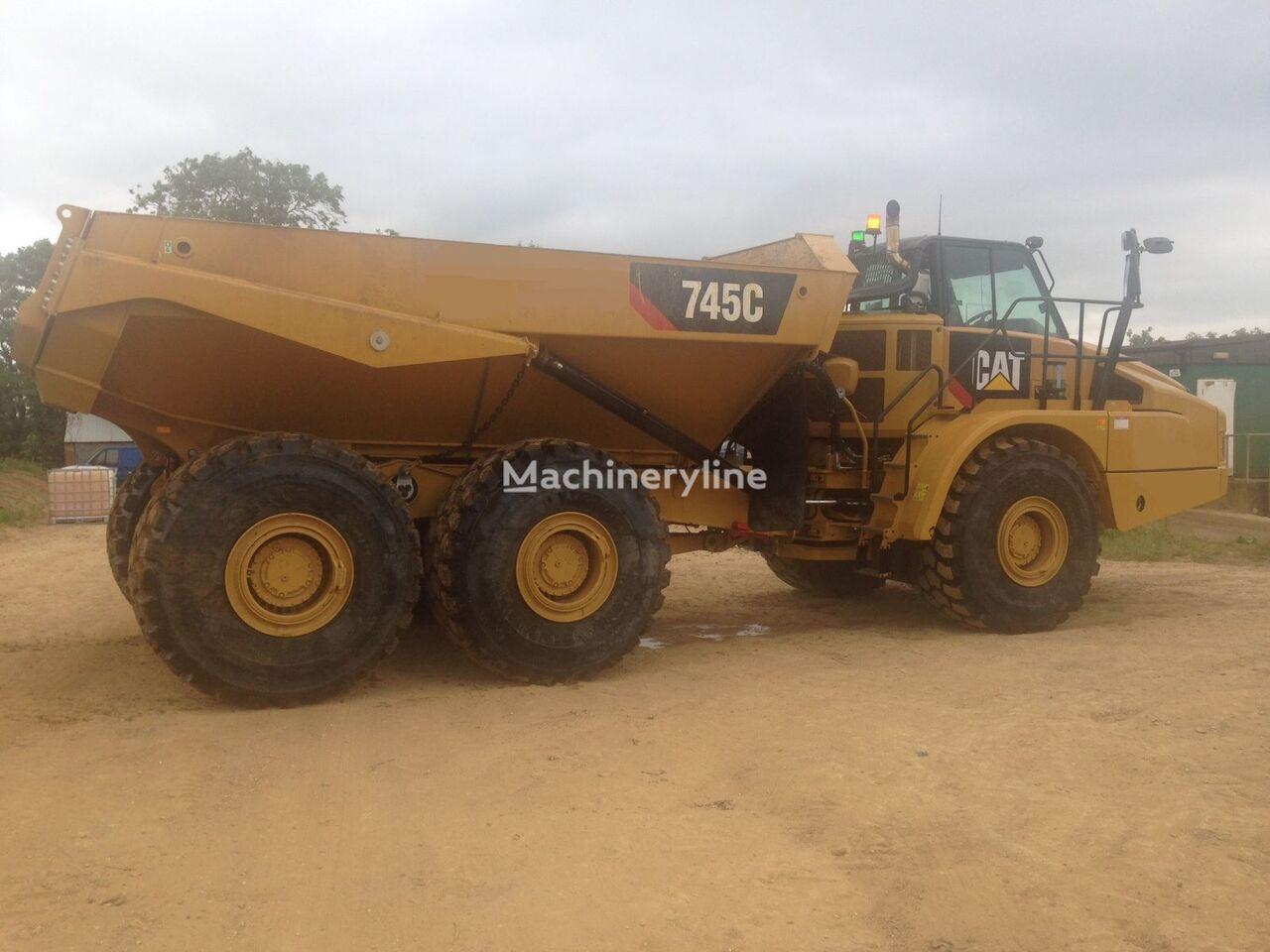 new CATERPILLAR 745 C articulated dump truck