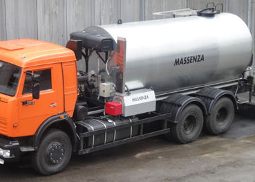 new MASSENZA asphalt distributor