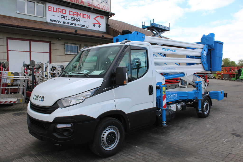 new IVECO Daily 35-120 -  28 m NEW! Socage serie 28D X-Factor  bucket truck