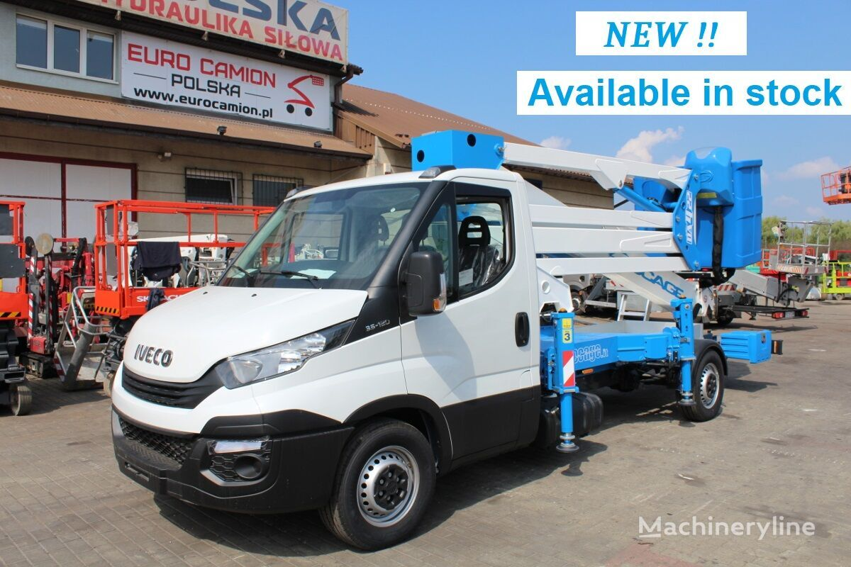 new IVECO Daily 35-120 Socage DA422 Forste 4 X-Factor bucket truck