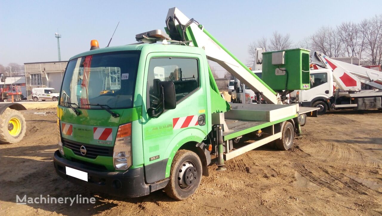 NISSAN Cabstar Multitel 160 ALU DS - 16m bucket truck