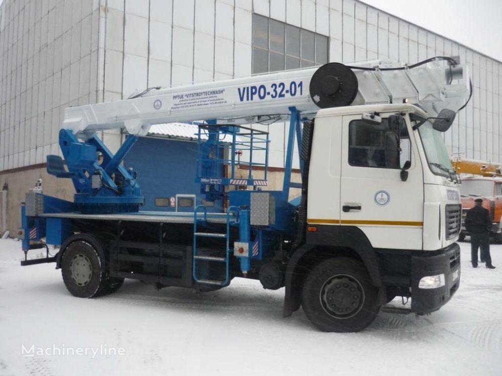 new vipo 32-01 bucket truck