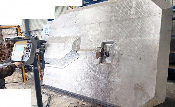 Progress EBA S 12 concrete block machine