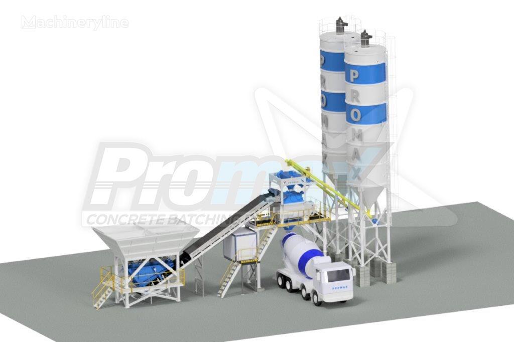 new PROMAX Compact Concrete Batching Plant PROMAX C100-TWN-PLUS (100m/h) concrete plant