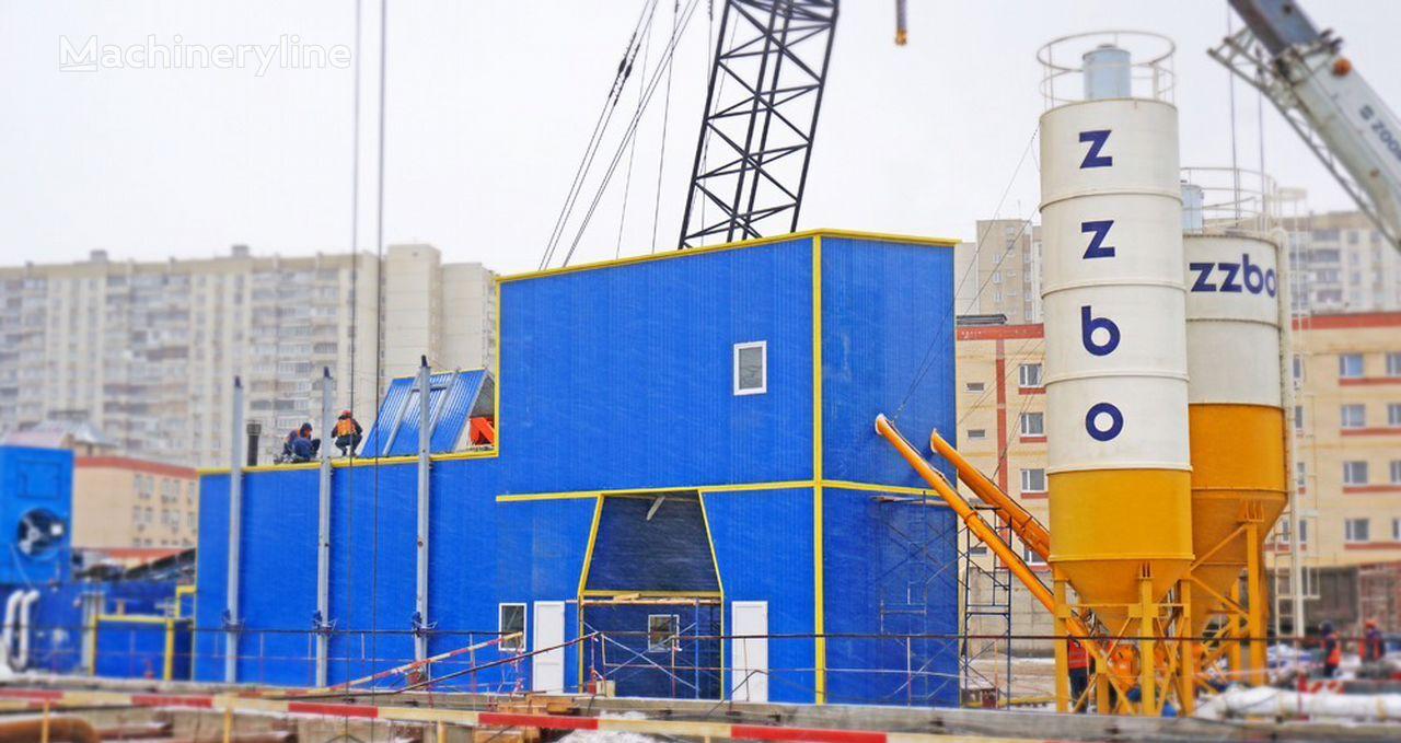 ZZBO Zimniy Mobilnyy Betonnyy zavod Flagman-90 zzbo concrete plant