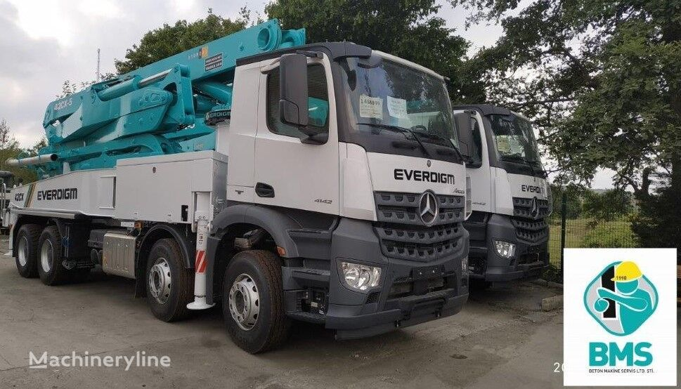 new EVERDIGM ECP 42 CX 5 concrete pump