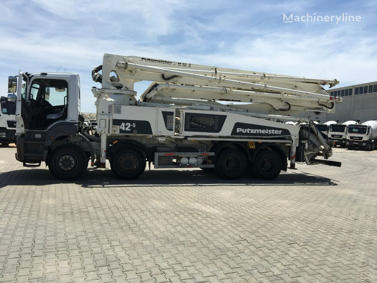 MERCEDES-BENZ  AXOR 4140  concrete pump