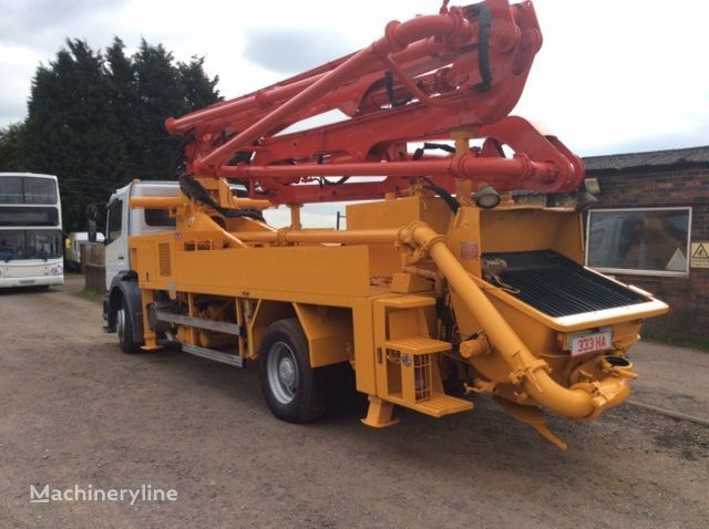 Mercedes Benz Atego Concrete Pumps For Sale Truck Mounted