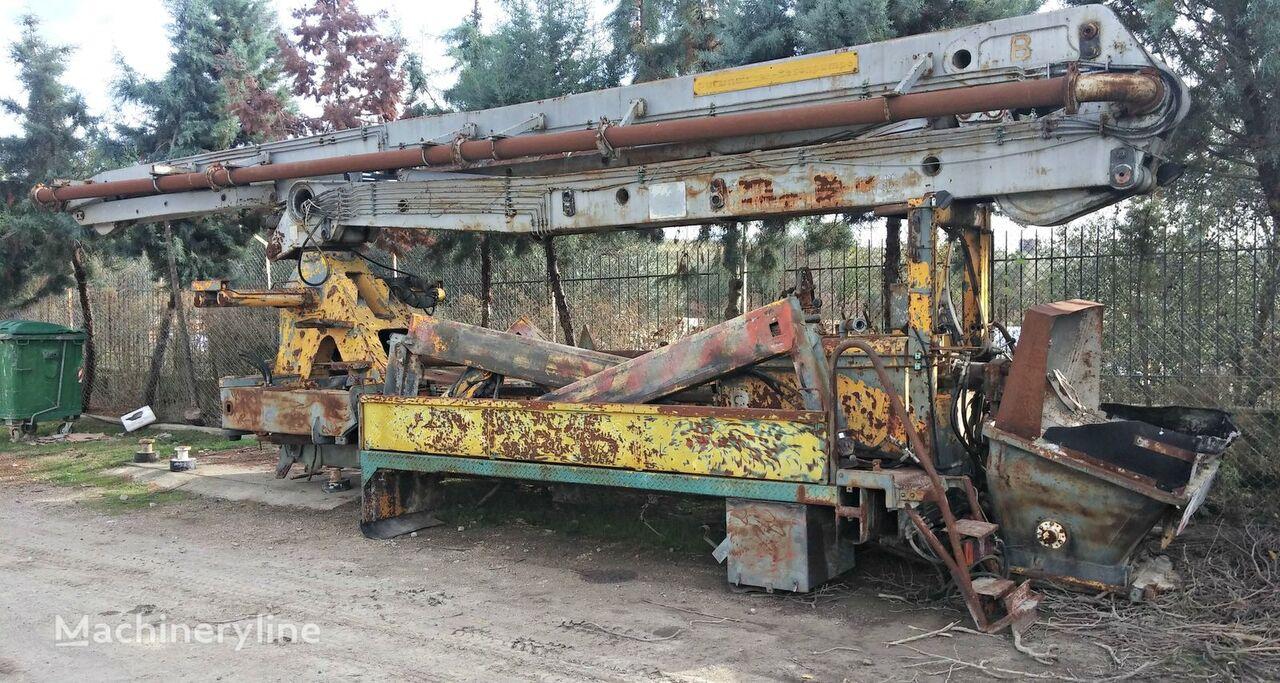PUTZMEISTER 31M. FOR SPARE PARTS concrete pump