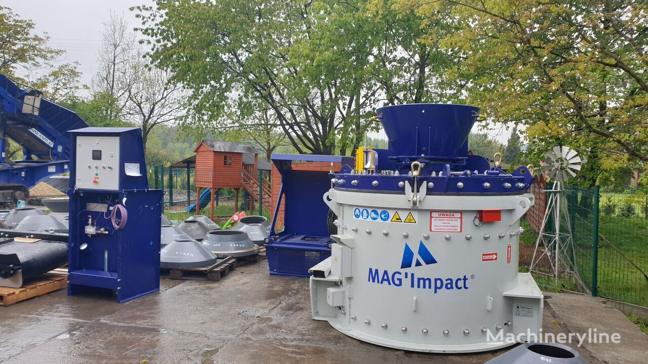new Magotteaux Mag Impact 2100 vertical shaft cone crusher