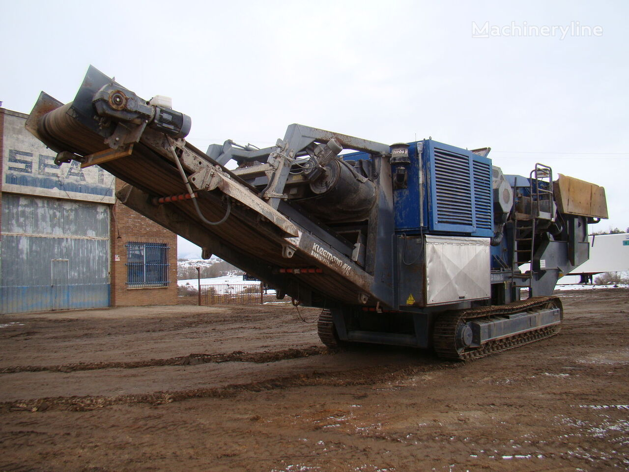 KLEEMANN MC 110 Z crushing plant