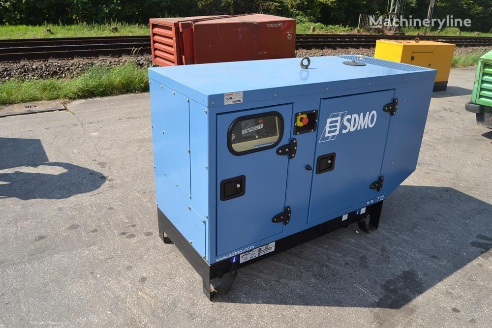 new SDMO T12k diesel generator