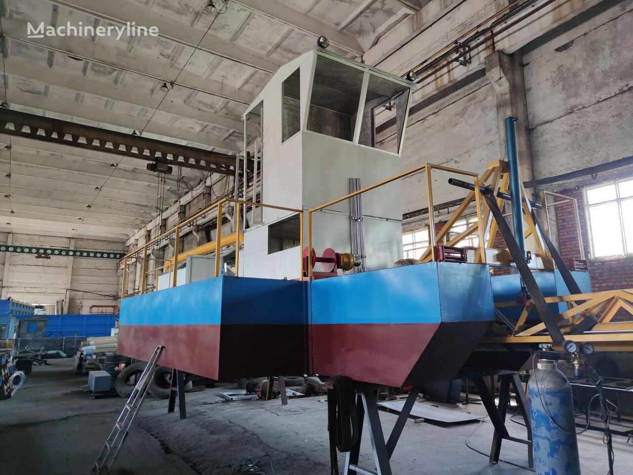 new DRW Zemsnaryad DRW-8 dredge