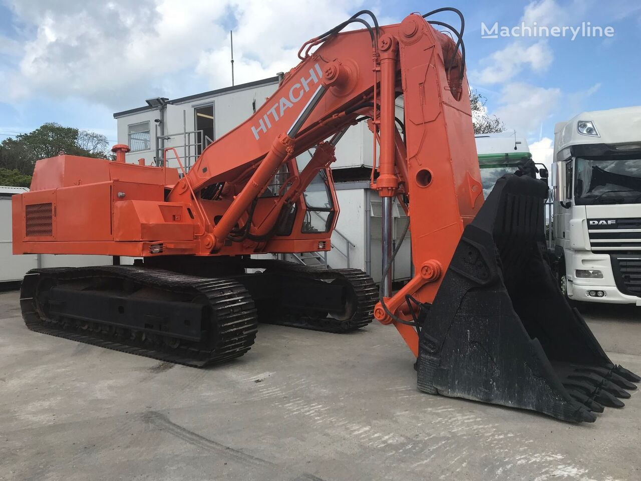 HITACHI UH181 front shovel excavator