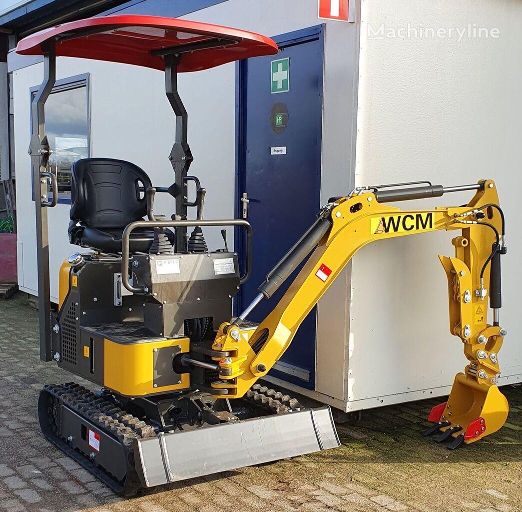 new WCM CXT8010S mini excavator