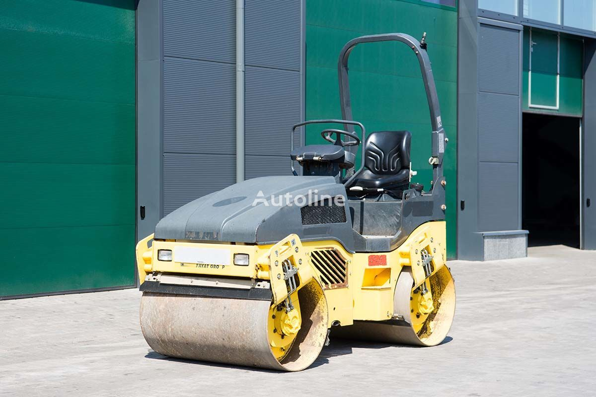 BOMAG BW120 mini road roller