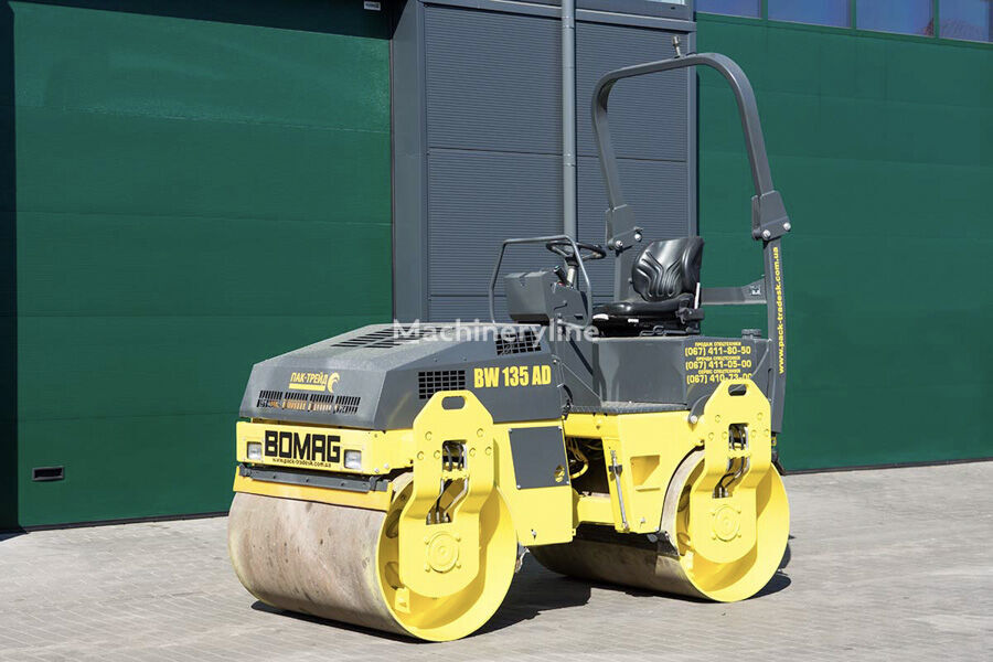 BOMAG BW135AD mini road roller