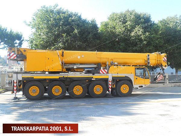 DEMAG AC 100 mobile crane
