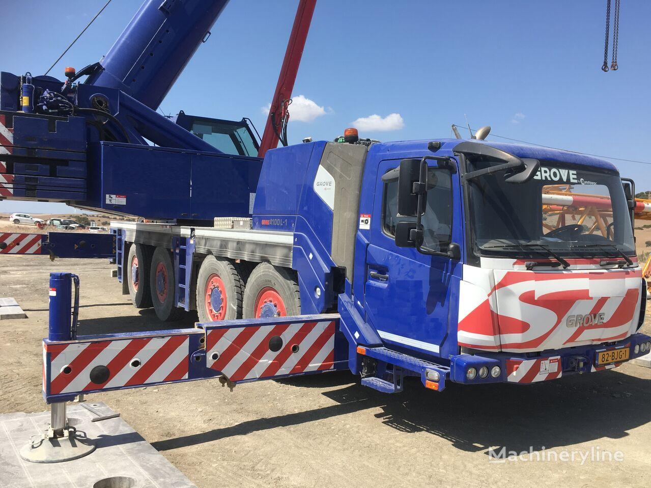 GROVE GMK4100-L mobile crane