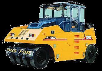 new XCMG XP302  pneumatic roller