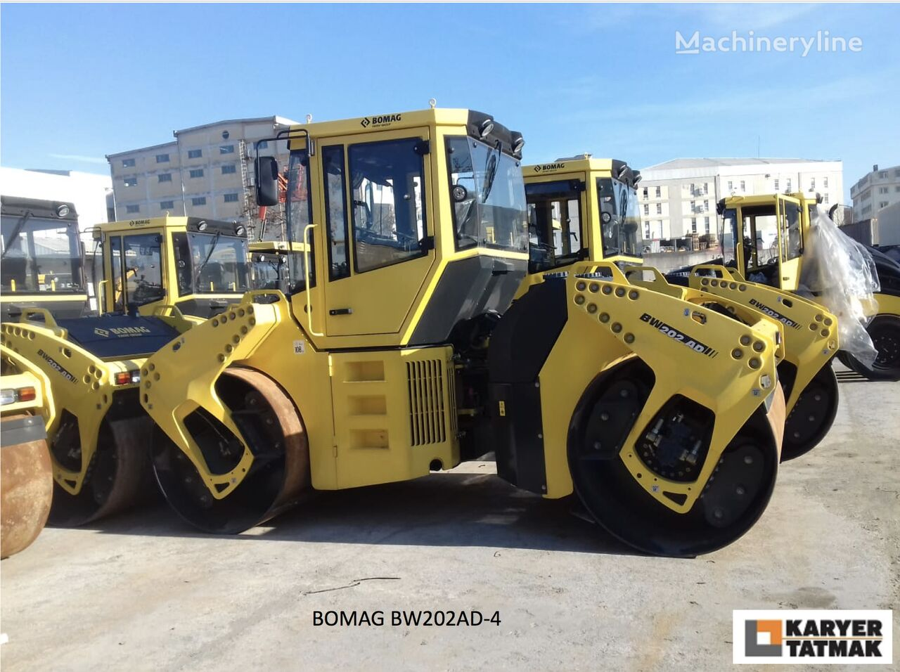 new BOMAG BW202AD-4 UNUSED road roller