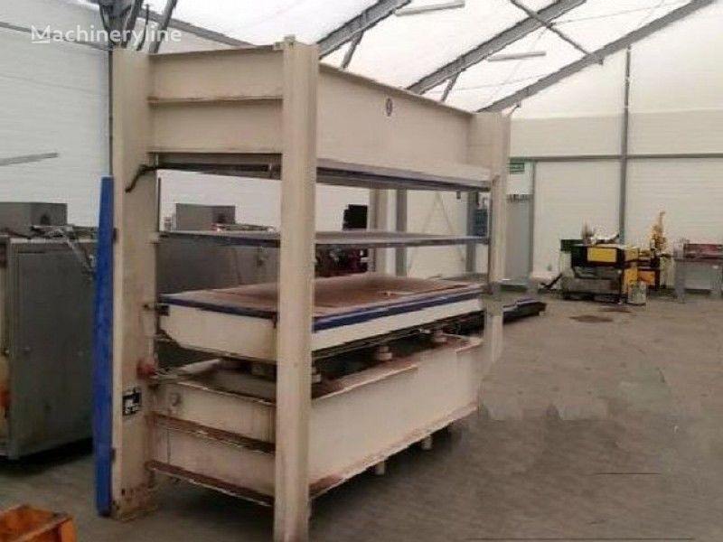 ORMA NPC. DIGIT 6. 110ASNPA hydraulic press scrap metal baler