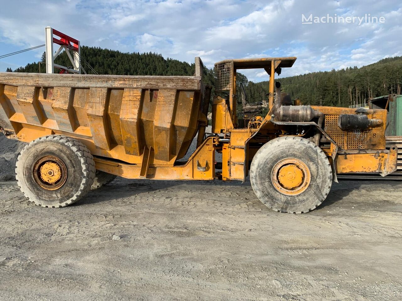 KAELBLE  KV 25 N  underground dump truck
