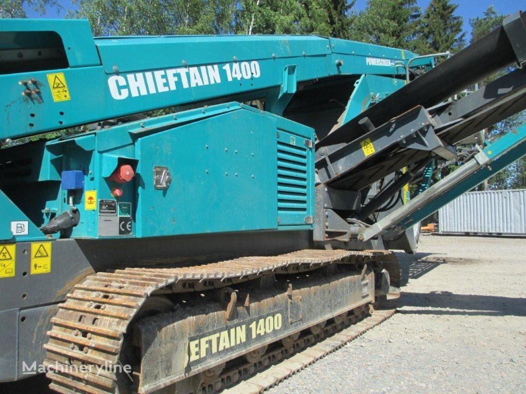 POWERSCREEN Chieftain 1400 vibrating screen