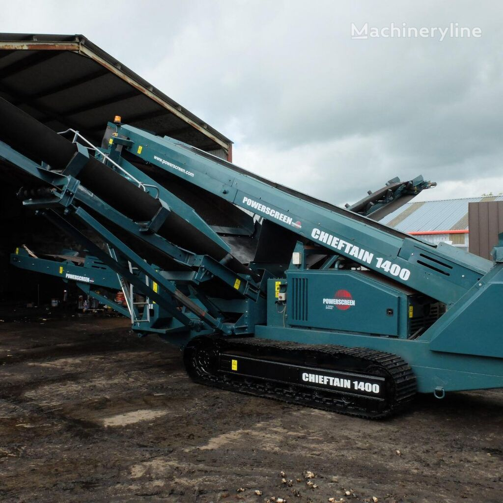 POWERSCREEN Chieftain 1400 Screener vibrating screen