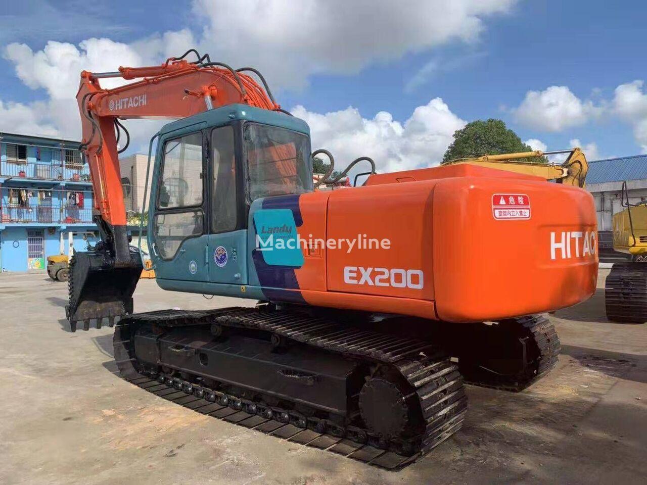 HITACHI EX200 walking excavator