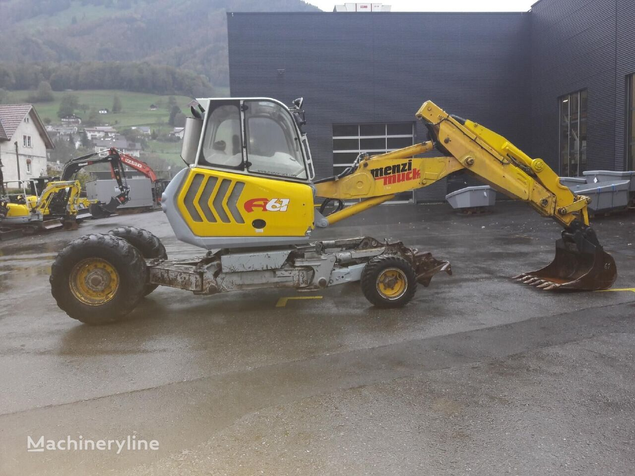 MENZI MUCK A61 Mobil walking excavator