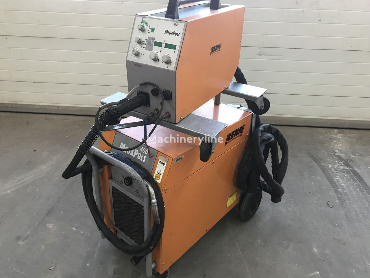 ONBEKEND Rehm Megapuls 400 welding equipment