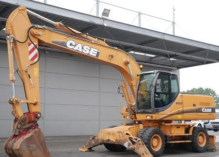 CASE WX210 wheel excavator