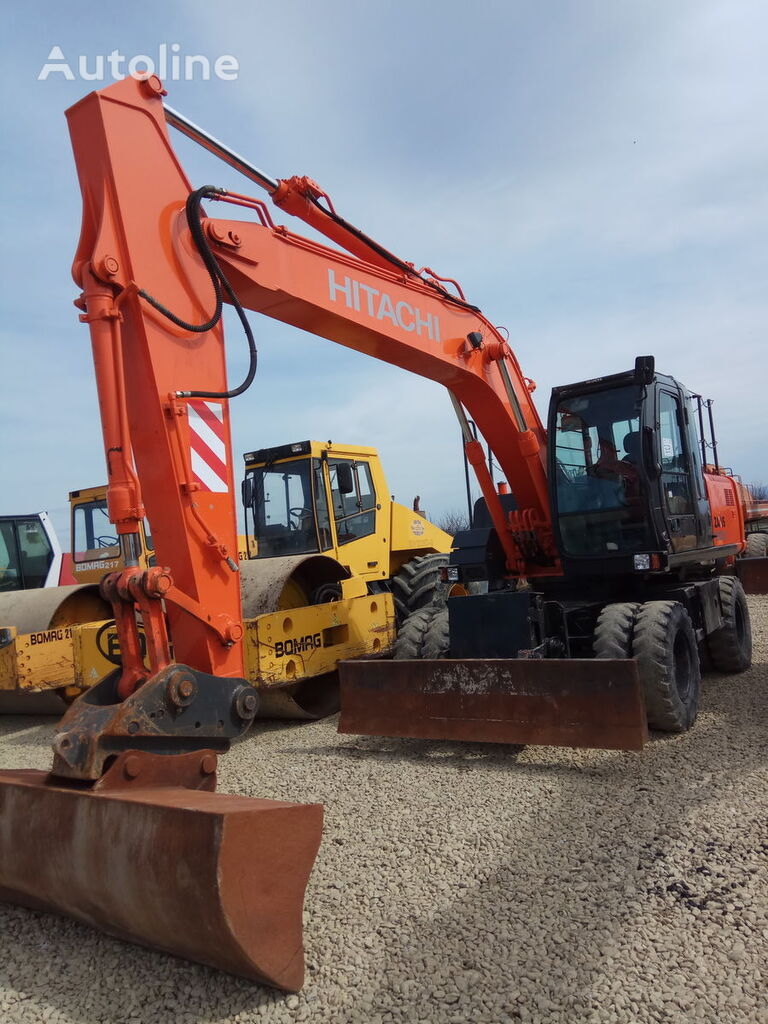 HITACHI ZX 160W wheel excavator