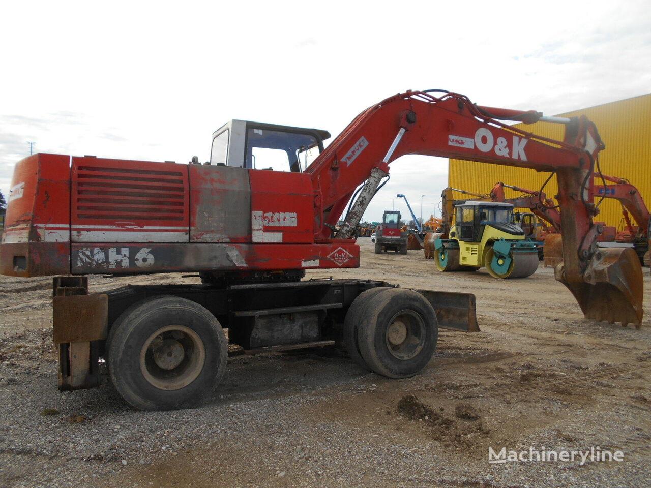 O&K MH-6 PLA/A2 wheel excavator