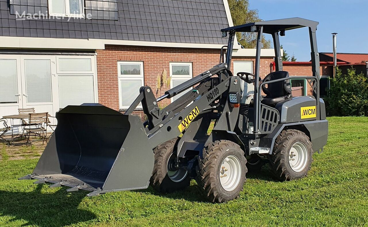 new WCM HQ180 wheel loader