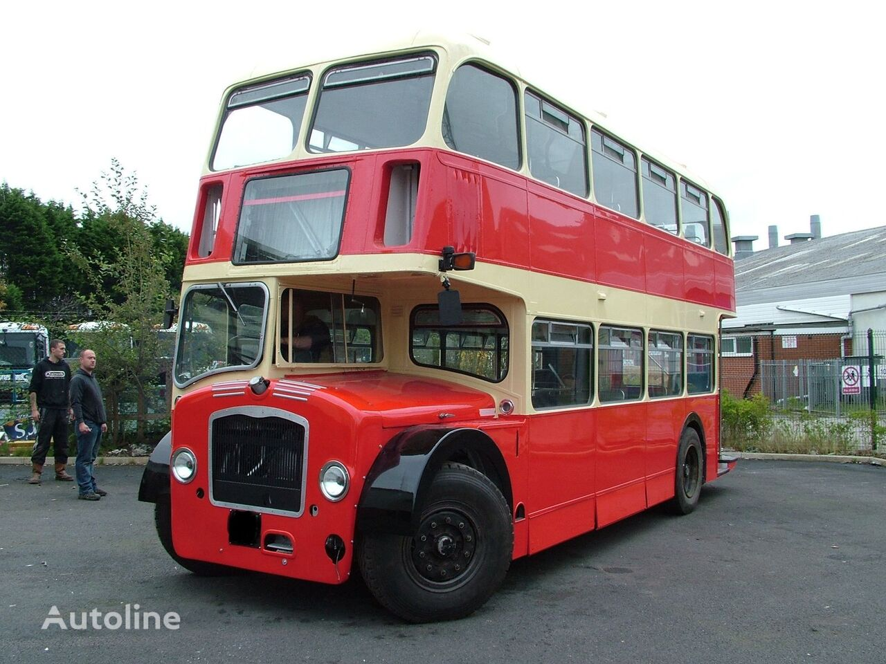 Bristol Lodekka LDS double decker bus