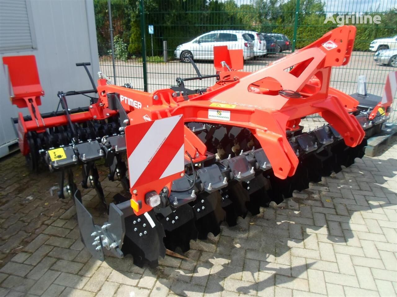 new KUHN OPTIMER Select 303+ disk harrow