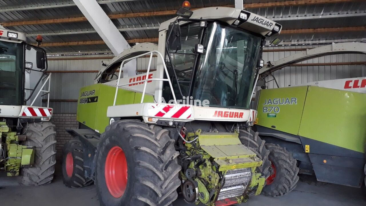 CLAAS Jaguar 850 Speedstar  forage harvester