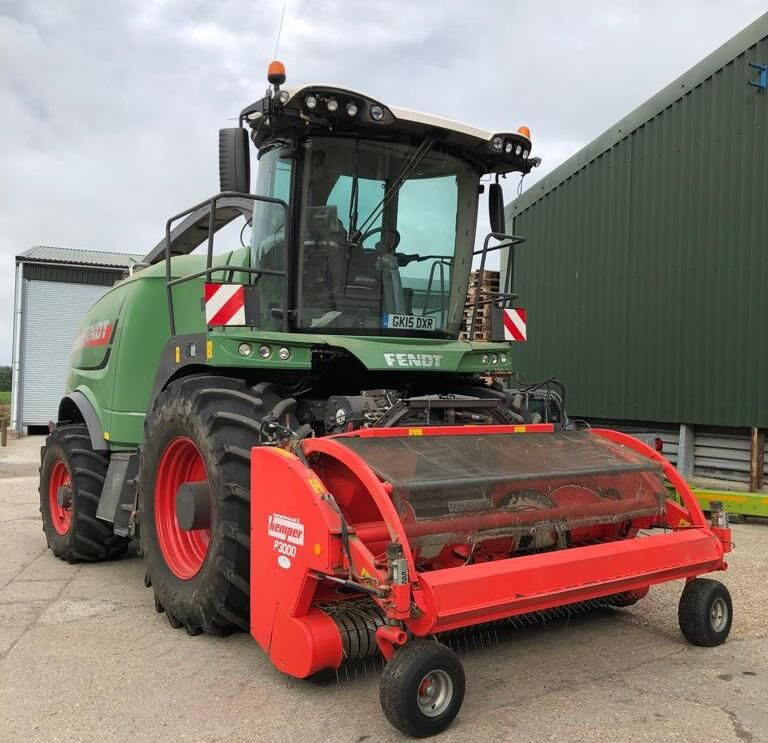 FENDT Katana 65 forage harvester