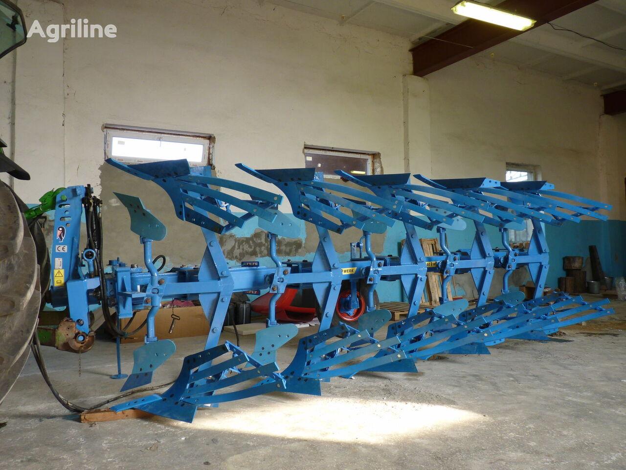 RABE Avant 4+1 reversible plough