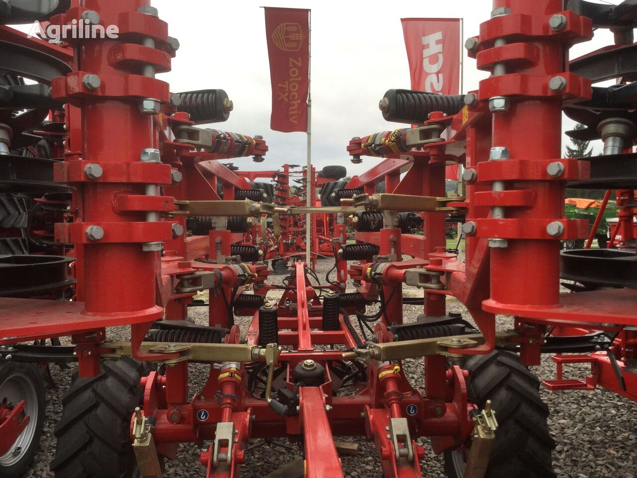 new HORSCH Terrano seedbed cultivator